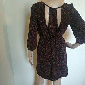 Francesca's Collections Dresses - Francescas Mini Dress Cutout Back